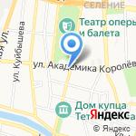 Марица на карте Астрахани