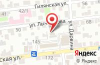 Схема проезда до компании Производственно-монтажная фирма в Астрахани