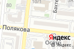 Схема проезда до компании Faberlic в Астрахани