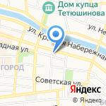 Министерство международных и внешнеэкономических связей Астраханской области на карте Астрахани