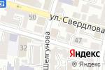 Схема проезда до компании Министерство международных и внешнеэкономических связей Астраханской области в Астрахани