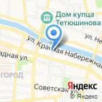 Областная ветеринарная станция на карте Астрахани