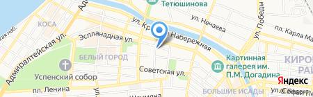 1-я Астраханская городская коллегия адвокатов на карте Астрахани