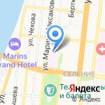 Киоск по продаже газированных напитков и сока на карте Астрахани