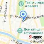Астраханский государственный университет на карте Астрахани