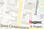 Схема проезда до компании Курьер-Сервис Астрахань в Астрахани