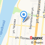 Империя на карте Астрахани