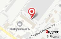 Схема проезда до компании Электа в Астрахани