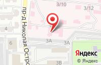Схема проезда до компании НИИ по изучению лепры в Астрахани