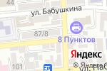 Схема проезда до компании Центральная городская библиотека в Астрахани