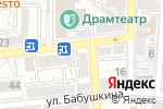 Схема проезда до компании Центр слуха в Астрахани