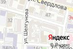 Схема проезда до компании КонсультантПлюс: Инфоком в Астрахани