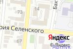 Схема проезда до компании КИП-Сервис в Астрахани