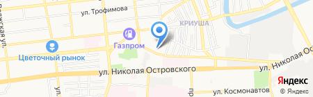 Юридическая компания на карте Астрахани