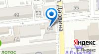 Компания Казус на карте