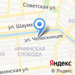 Рекламное товарищество на карте Астрахани