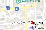 Схема проезда до компании Радуга Звуков в Астрахани