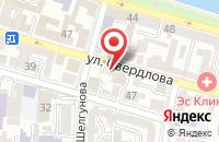Схема проезда до компании Реставрационная мастерская в Астрахани