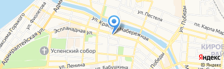 Реставрационная мастерская на карте Астрахани