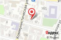 Схема проезда до компании Креатор в Астрахани