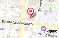 Схема проезда до компании Media Партнер в Астрахани