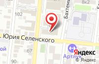 Схема проезда до компании Мир ветоши в Астрахани