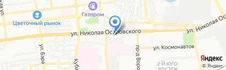 Нотариус Антонова Т.А. на карте Астрахани