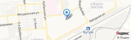 Средняя общеобразовательная школа №18 им. 28 Армии на карте Астрахани