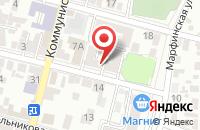 Схема проезда до компании Global Training Center в Астрахани