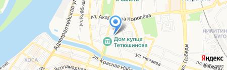 Global Training Center на карте Астрахани