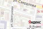 Схема проезда до компании Шахматный клуб в Астрахани