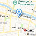 Астраханская областная коллегия адвокатов на карте Астрахани