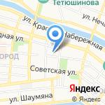 Отдел общего образования и воспитания на карте Астрахани