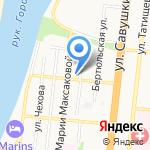Шек-1 на карте Астрахани