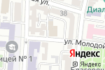 Схема проезда до компании Отдел общего образования и воспитания в Астрахани