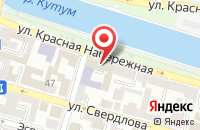 Схема проезда до компании Карина в Астрахани