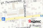 Схема проезда до компании Астекс в Астрахани