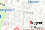 Схема проезда до компании Дорожная инфраструктура и сервис в Астрахани