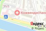 Схема проезда до компании ТАН в Астрахани
