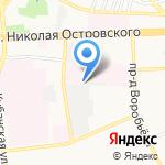 НИИ по изучению лепры на карте Астрахани