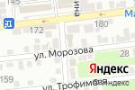 Схема проезда до компании СервисСтрой в Астрахани