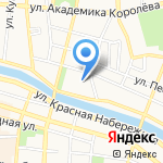 Русский трансформатор на карте Астрахани