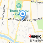 Лестница в небо на карте Астрахани