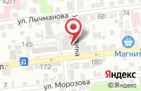 Схема проезда до компании Анти-Банкиръ в Астрахани