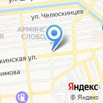 Каспийгео на карте Астрахани