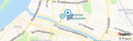 Добрая фея на карте Астрахани