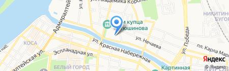 Каспи-Трейд на карте Астрахани