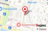 Схема проезда до компании Промснаб в Астрахани