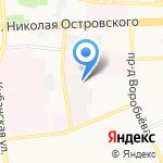 Автобаза Администрации г. Астрахани на карте Астрахани