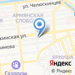 СервисСтрой на карте Астрахани